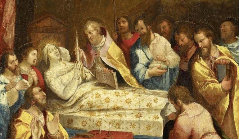 La morte della Vergine Maria