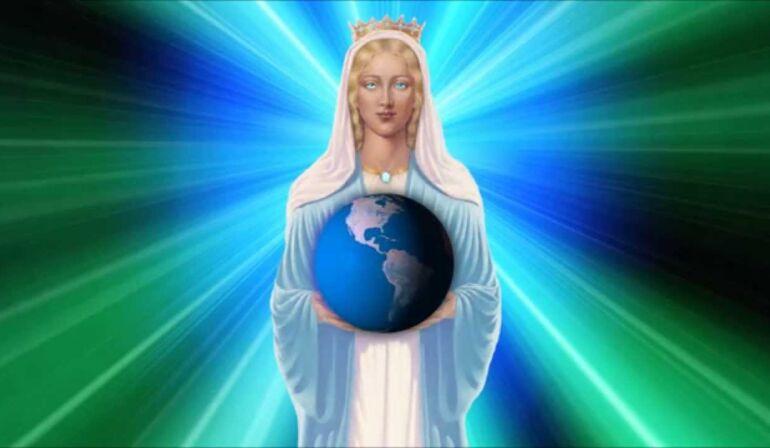 La Madonna predica la pace nel mondo